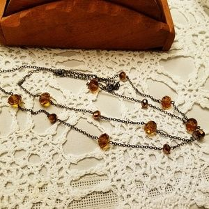 💎Dainty Amber💎Necklace